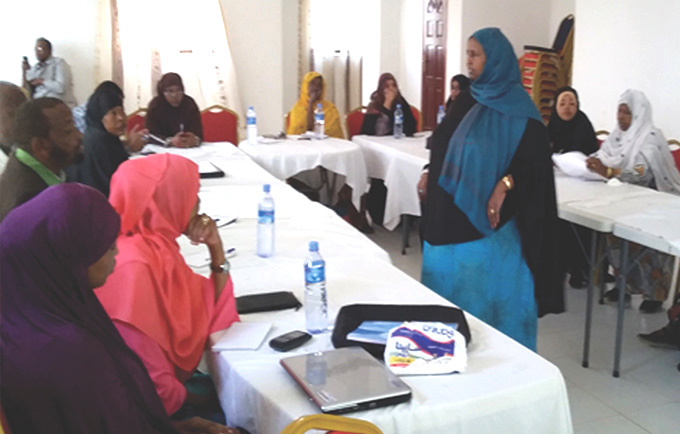 Discussions on gender based violence
